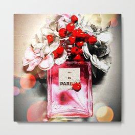 Eau de Parfum Pink Metal Print