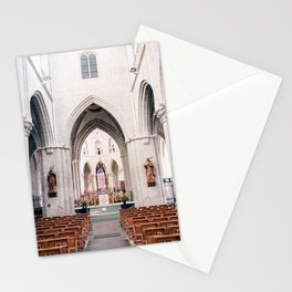 The Netherlands 0002: Church in Hulst, The Netherlands (002) Stationery Cards