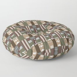 The Kha-Key Construction Collection Floor Pillow