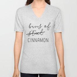 Buns of Cinnamon Unisex V-Neck