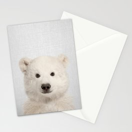 Polar Bear - Colorful Stationery Cards