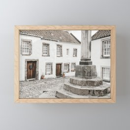 Mercat Cross Art Print | Scotland Photography | Mercat Cross In Culross Cranesmuir Framed Mini Art Print