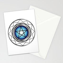 Glowing Pentagram Stationery Cards