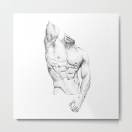 Philippe - Nood Dood Metal Print