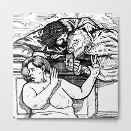 The New Susanna - Detail Metal Print