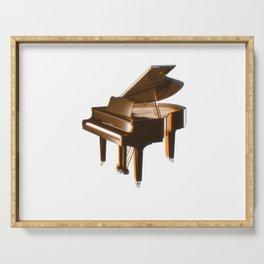 The piano orange Serving Tray