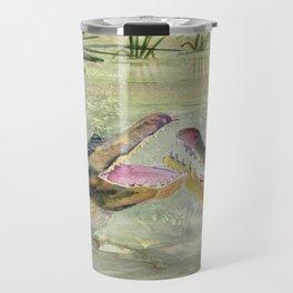 Alligator Study  Travel Mug