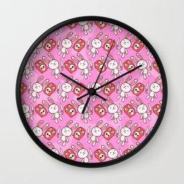 Bunny Kill Chu Wall Clock