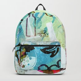 Abstract Wine Background Backpack