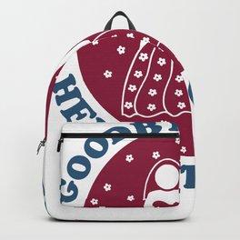 Goodbye To Life Hello To Wife Backpack