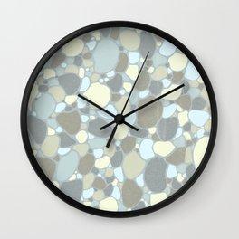 Tertiary Toned Terrazzo Wall Clock
