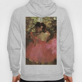 Dancers In Pink 1885 By Edgar Degas | Reproduction | Famous French Painter Hoody