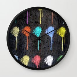 electricflowers Wall Clock