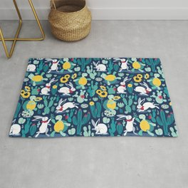 The tortoise and the hare Rug