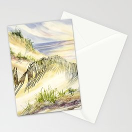 Shoreline Dune Shadows  Stationery Cards
