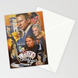 James Bond - Casino Royale Stationery Cards