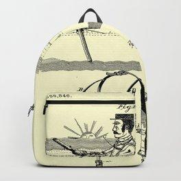 1887 Oarsman's Harness Patent Boat Backpack
