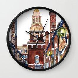 Yale University Wall Clock
