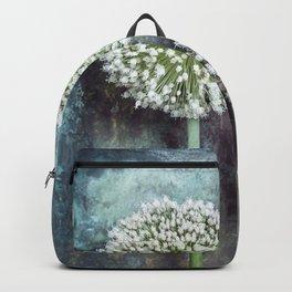 Allium Flowers Backpack