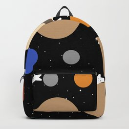 Planets: Pattern Backpack