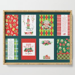 Celebrate your Christmas earlier Serving Tray