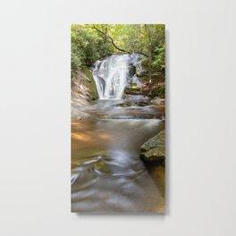 Widow's Creek Falls, Stone Mountain State Park, NC Metal Print
