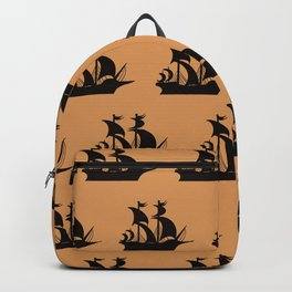 Pirate Ship Pattern  Backpack