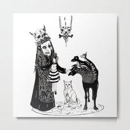 Twelve Metal Print