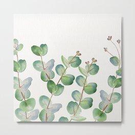 Eucalyptus Watercolor 3 Metal Print