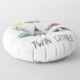 Twin Cities Floor Pillow