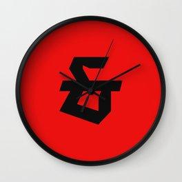 Teutura Et Wall Clock