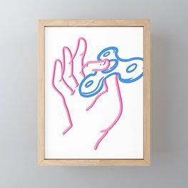 Fidget Toys Gift Player Son Daughter Framed Mini Art Print