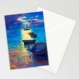 Moon River Moonlight Stationery Cards