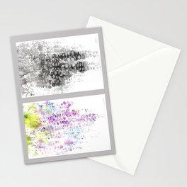 Grid Series No.5 Wisteria Stationery Cards