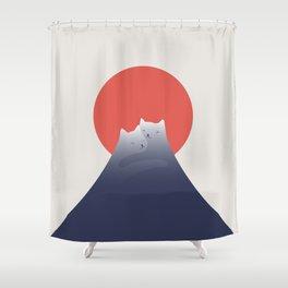 Cat Landscape 98 Shower Curtain