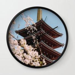 Tokyo 21 Wall Clock