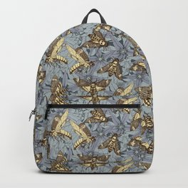 Death's-head hawkmoth twilight Backpack