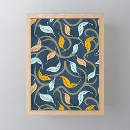 Midnight Fall Framed Mini Art Print