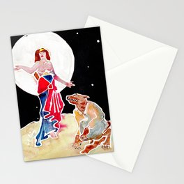 Goddess Circe & Her Beast Stationery Cards