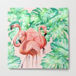 Flamingo Ivelin Metal Print