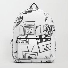 FILMMAKING ELEMENTS PATTERN Backpack