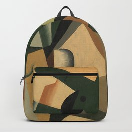 """Juan Gris """"Glass and Checkerboard"""" Backpack"""