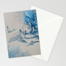 Gulf Stream - Whale, Sea Turtle, Shark Stationery Cards