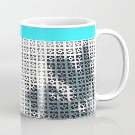 Parker Palm Springs with Palm Tree Shadow Coffee Mug