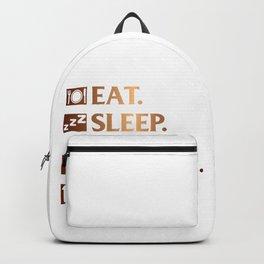 Eat. Sleep. Gaming. Repeat Backpack