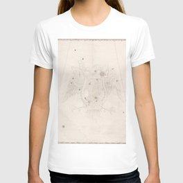 Johann Bayer - Uranometria / Measuring the Heavens (1661) - 08 Lyra T-shirt