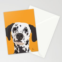 Dalmatian Portrait Stationery Cards
