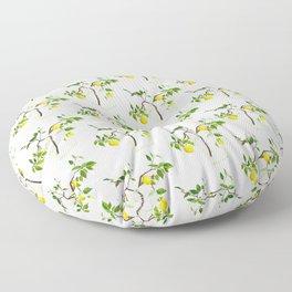 Lemon Tree Floor Pillow