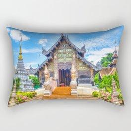 Chiang Mai Temple Rectangular Pillow