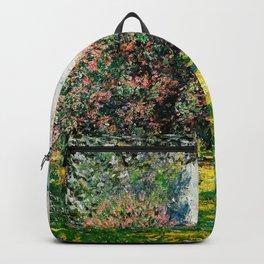 Monet - The Parc Monceau Backpack